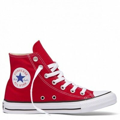 Converse Chuck Taylor All Star Classic Red High Tops Unisex