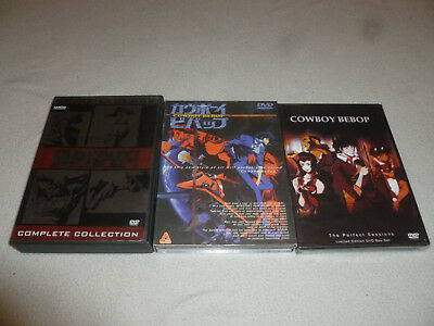 Japan Anime Dvd Lot Cowboy Bebop Complete Collection Limited Perfect Sessions >>