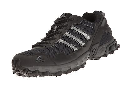 adidas Men s Rockadia M Trail Running Shoe Black Black Dark Grey Heather 2d69c6180