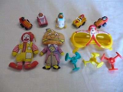 Vintage 1980`s McDonald`s Happy Meal Toys