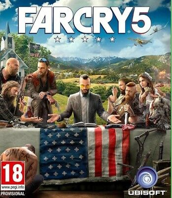 Far cry 5 [PC UPLAY] [DIGITAL DOWNLOAD] [REGION FREE]