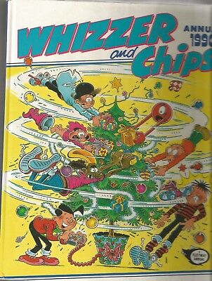 Whizzer and Chips annual 1990 (excellent condition)