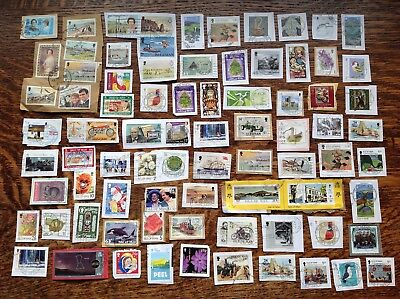 Collection Of Isle Of Man Stamps Kiloware