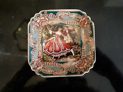 Angad's Home French Provincial Square Display Plate - Must See !