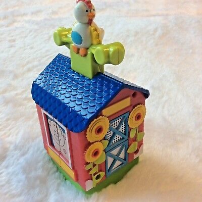 Evenflo Exersaucer Musical Toy Replacement Part Mega Barn Farm Lights Sound Song