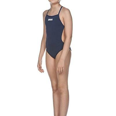 209b0924b5be TG. 140) ARENA costume da bagno da bambina Solid Lightech Junior Blu ...