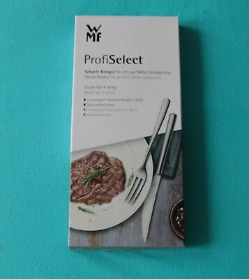 WMF Steak-Set 4-teilig Profi Select Steakbesteck Besteckset Steakmesser neu  ovp