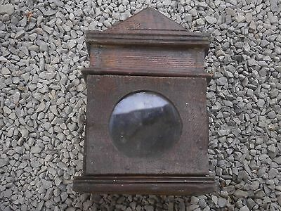 Antique Vintage Wooden Case Box For Clock For Wall