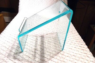 Retail Store Style - Slanted Acrylic Shoe Holder / Display Stand