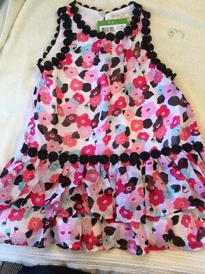 Kate Spade toddler girls blooming floral dress size 2 2t NWT