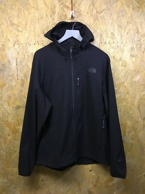 THE NORTH FACE, Size XL, Black, Small Logo, Hooded,Soft Shell Jacket,*IMMACULATE
