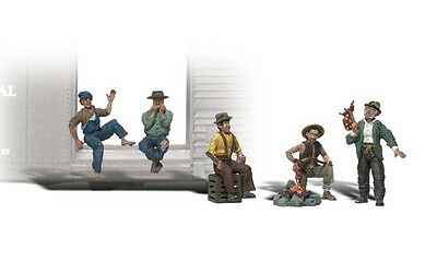 Woodland Scenics A2734 O Train Figures Hobos