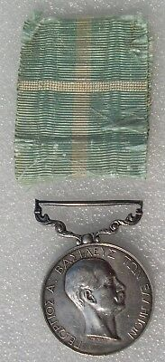 MEDAILLE MAISON ROYALE DE GRECE  - ROYAL HOUSEHOLD MEDAL GEORGE I  greece medal