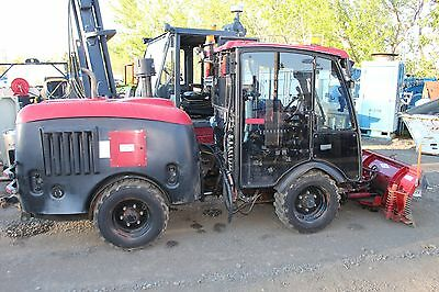 2008 Maclean MV2 4x4 Articulated Municipal Tractor Plow Diesel Cab Heat A/C Cat