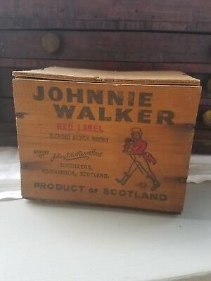 Small Vintage Johnnie Walker Box