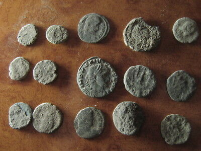 Ancient roman coins lot 37