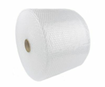 """Bubble Cushioning Wrap 3/16"""" 100 ft 12"""" Perforated, Small Bubble, Padding roll"""