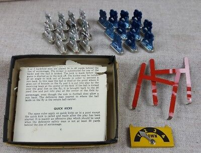 Vintage Tudor NFL Electric Football Game Metal Players *Accessories Only *