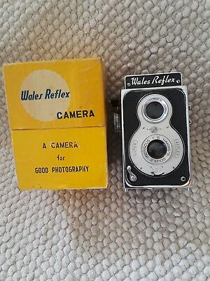Vintage Haking's Wales Reflex camera with original box