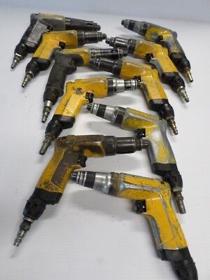 Lot of 10 Atlas Copco Pneumatic Pistol Grip Drill Aircraft Tool LUM