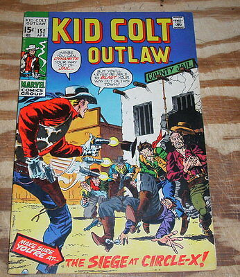 Kid Colt Outlaw #153 very fine 8.0