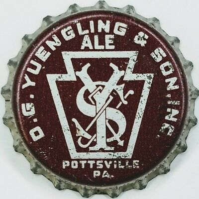 YUENGLING & SON PA TAX Beer Bottle Caps Crown USED CORK Cap