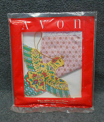 Vintage Avon Handkerchief Dove Ornament - The Gift Collection - Sealed - New NIP