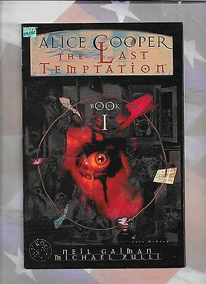 Alice Cooper The Lat Temption 1 1994 Neil Gaiman Michael Zulli vf-nm 9.0