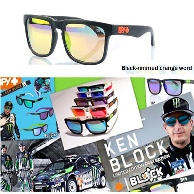 34 Colors Helm Ken Block Sunglasses Men Women Unisex With Free Cloth Pouch & Box