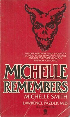 Michelle Remembers by Pazder, Lawrence Paperback Book The Cheap Fast Free Post