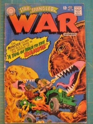 Star Spangled War Stories # 136.Tug of War to The Death! mid.grade.