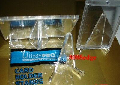 Ultra Pro Card Holder Display Stand Plastic - Pack Of 5 Heavy Duty/light Weight