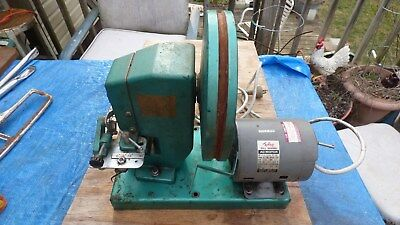 Vintage Foley Model 385SN Motorized Automatic Retoother , Handsaw Sharpener-NICE