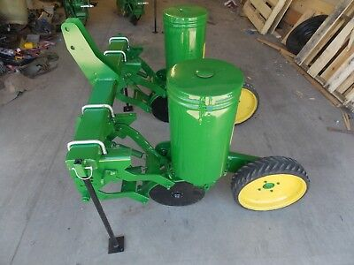 2 Row John Deere 71 Flex Food Plot Corn Planter JD 71 Sweet Corn