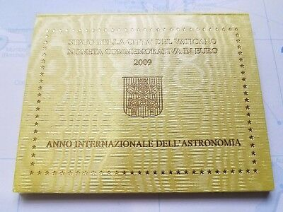 2009 Vatican 2 Euro Coin – International Year Of Astronomy