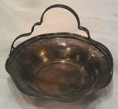 Webster Sterling Silver Candy Dish w/ Handle