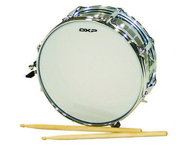 DXP MARCHING SNARE DRUM 14 Inch x 5 Inch Size Drum Includes Sticks