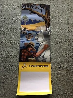 BUNDABERG BUNDY RUM POSTER Its where your from