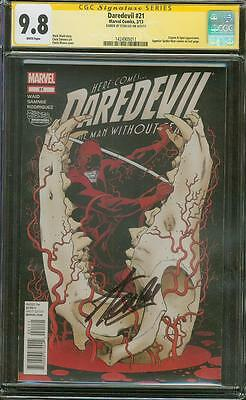 Daredevil 21 CGC SS 9.8 Stan Lee Signed 1st Superior Spider Man Cameo Homecoming