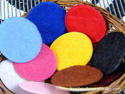 UPICK Colors Die Cut Felt Circle Cardmaking Appliques decoration 35m 50-500pcs