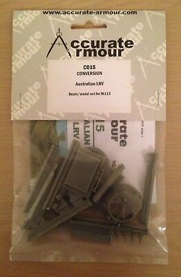 Accurate Armour C015 Conversion Australian LRV, Resin/metal set for M113