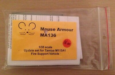 Mouse armour MA136 1/35 scale Update set for Tamiya M113A1 Fire Support Vehicle