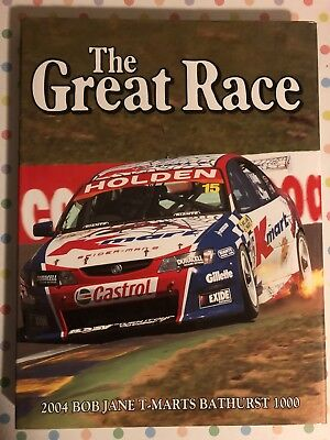 The Great Race 24 Official Book Of The 2004 Bob Jane T Marts 1000 Murphy Kelly