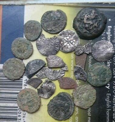 metal detecting finds lower grade Roman coins