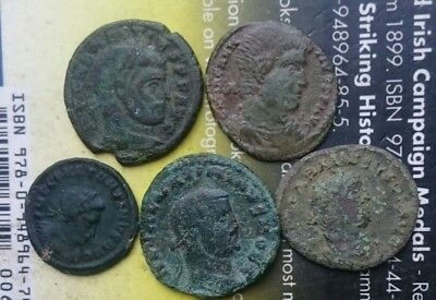 metal detecting finds Roman coins