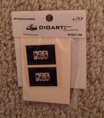 Dioart M113 Instrument Panel Decal #068 1/35 scale