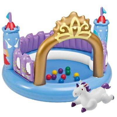 INTEX 48669 Ball Toyz Magical Castle  Ø 130 x 91cm Burg Schloß aufblasbar