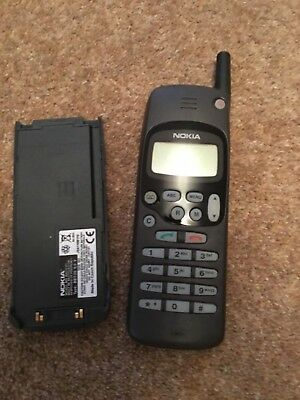 Nokia NHE-5SX vintage mobile phone (no charger)