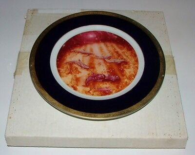"""Christian Riese Lassen Artist Proof Collector Plate """"illusions"""" - Dolphins"""