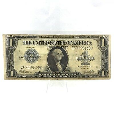 * Series 1923 $1 LARGE SIZE U.S. Silver Certificate - Horse Blanket Note Lot# 9